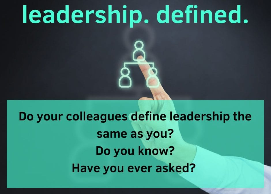 A Leadership Reference Guide: Creating a Common Language