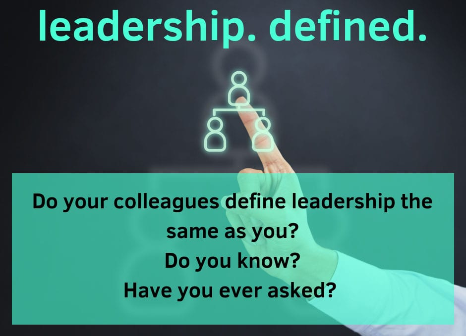 leadership grpahic how do you define leadership